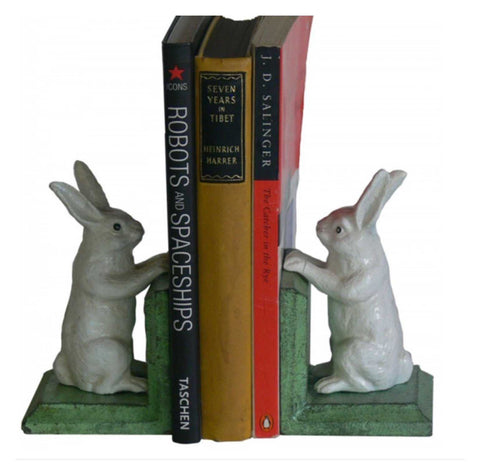 Book Ends Bunny Rabbit | The Renmy Store