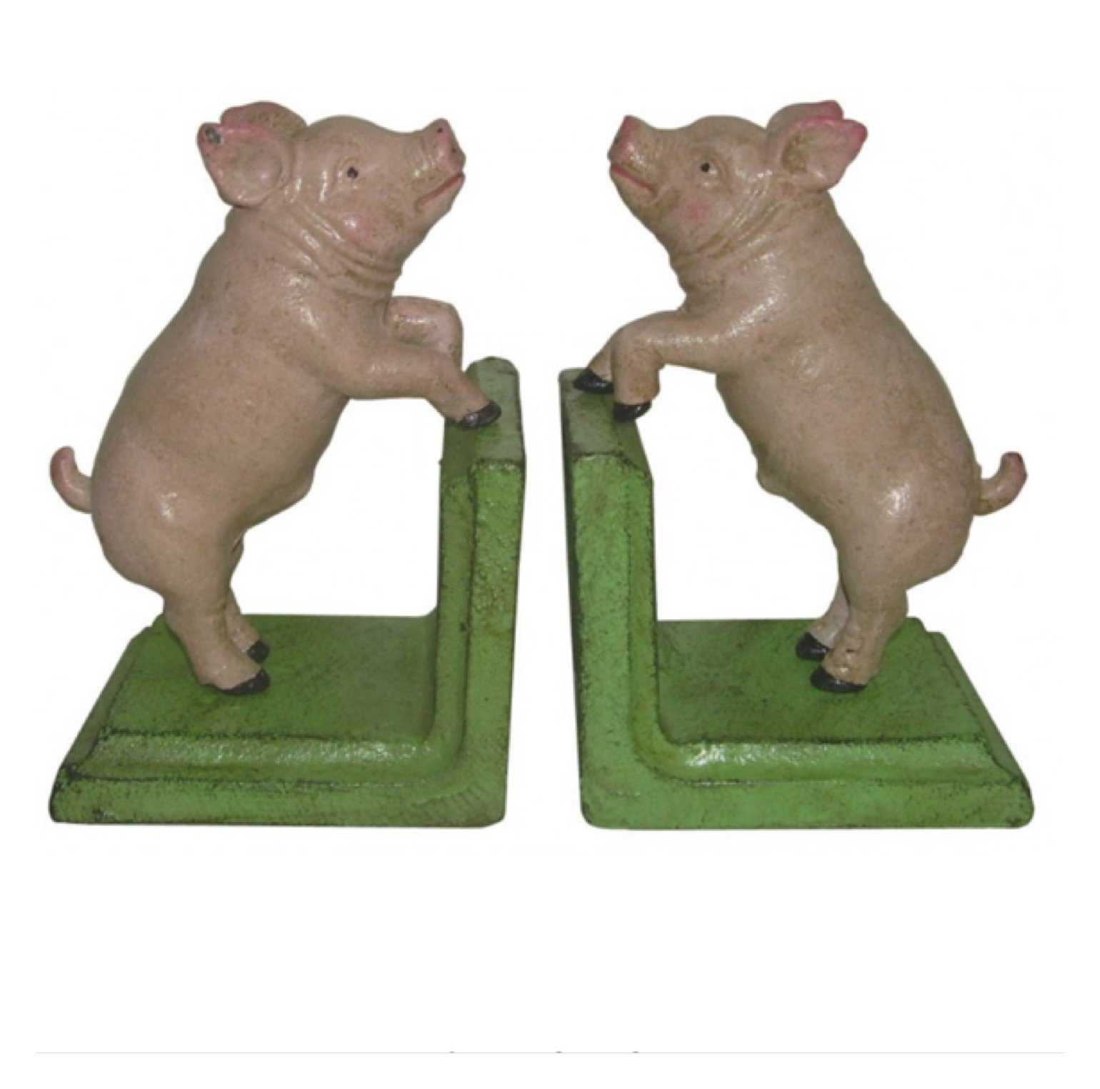 Book Ends Pig Farmhouse | The Renmy Store