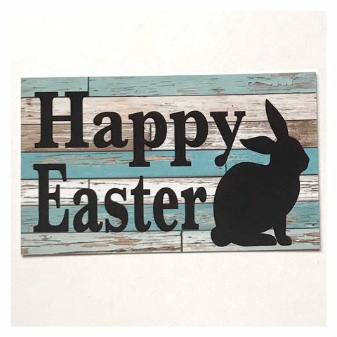 Happy Easter Sign Wall Plaque or Hanging - The Renmy Store