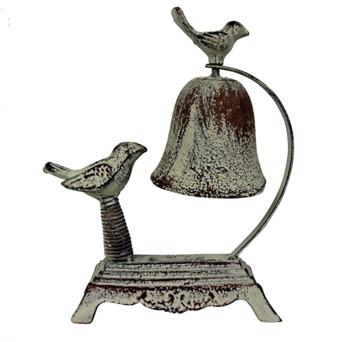 Door Bell Birds Vintage Cast Iron