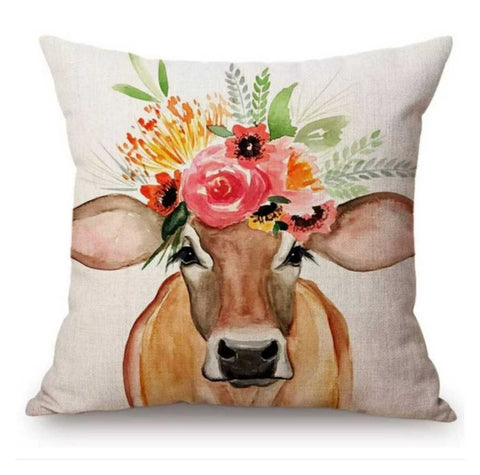Cushion Pillow Cow Bessy