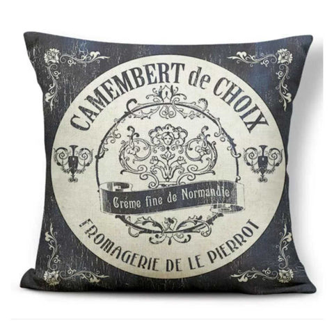 Cushion Pillow French Provincial Cheese