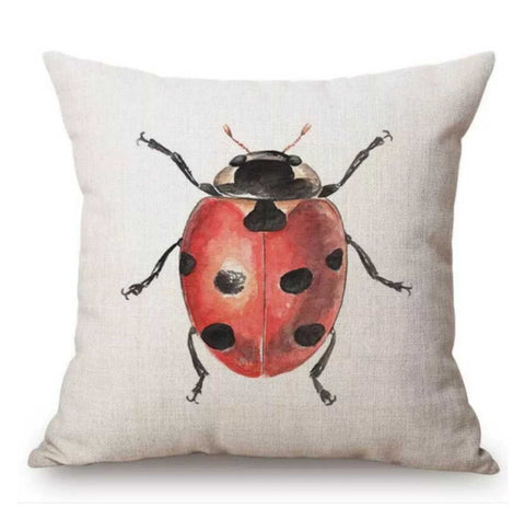 Cushion Pillow Lady Beetle