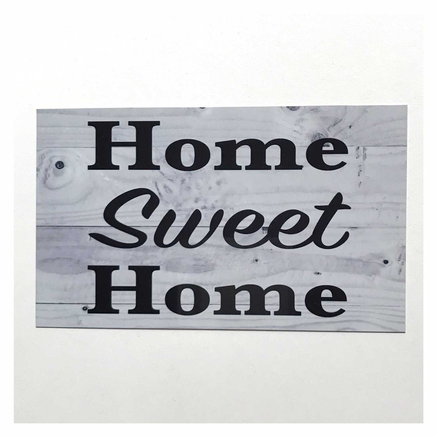 Home Sweet Home Rustic Grey Sign