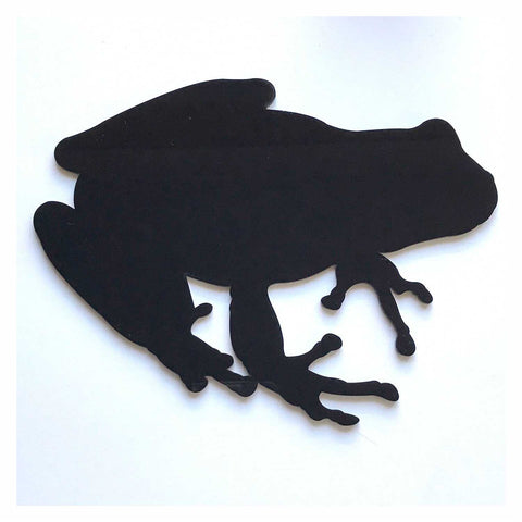 Frog Black or White Plastic Acrylic Decor - The Renmy Store