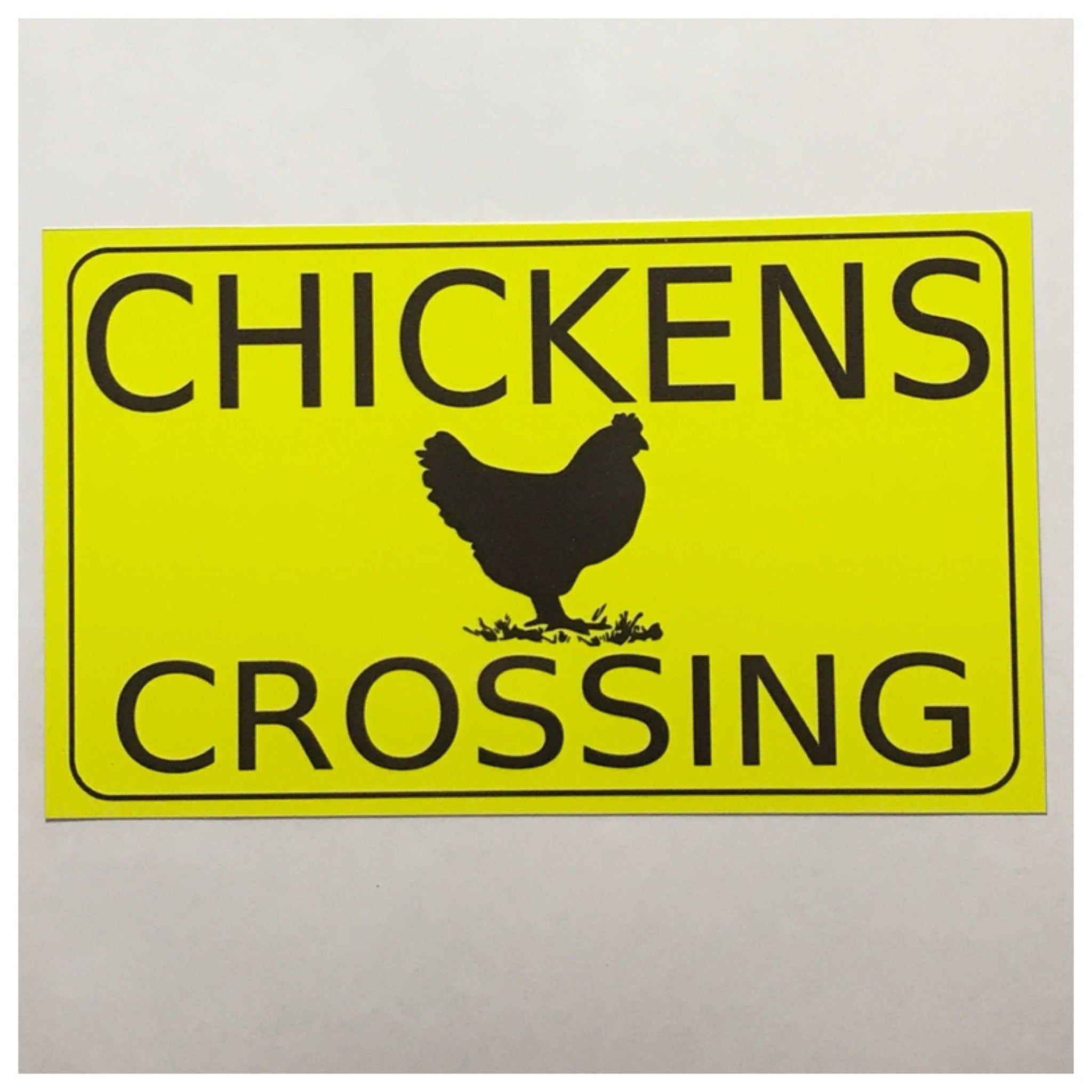 Chickens Crossing Sign - The Renmy Store