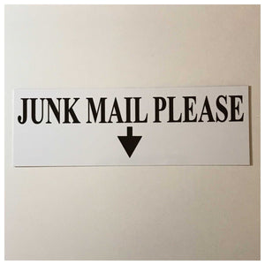 Junk Mail Please Sign - The Renmy Store