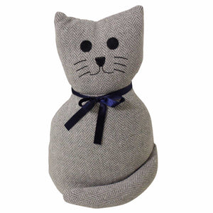 Door Stop Cat with Bow - The Renmy Store