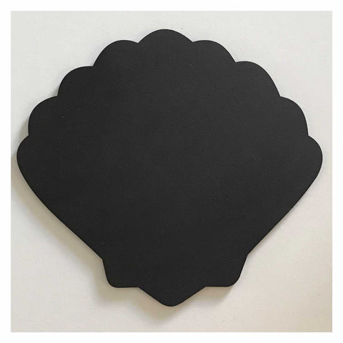 Blackboard Shell Clam Beach House MDF Kitchen Business Market Chalk Cafe - The Renmy Store