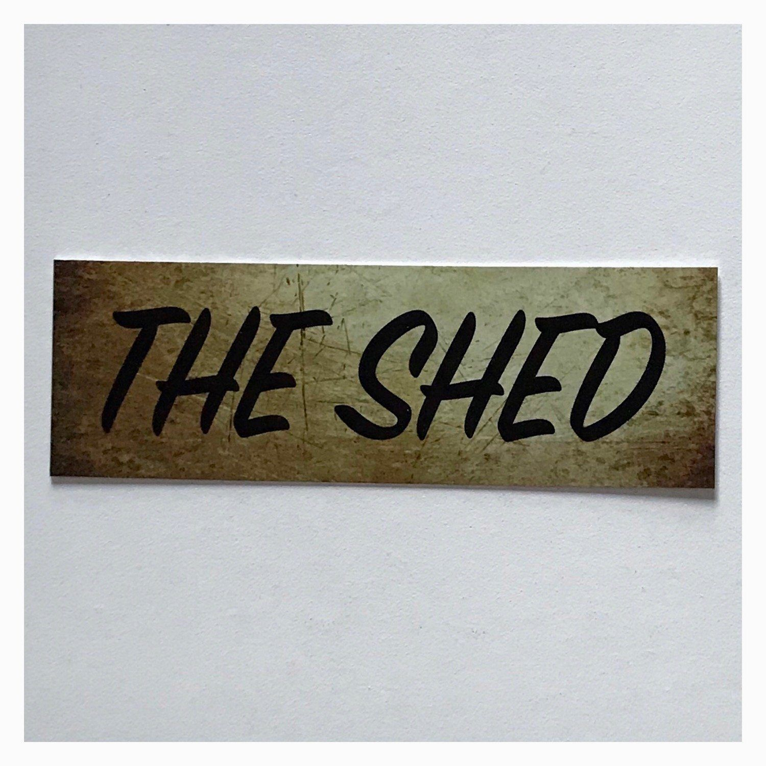 The Shed Vintage Style Sign - The Renmy Store