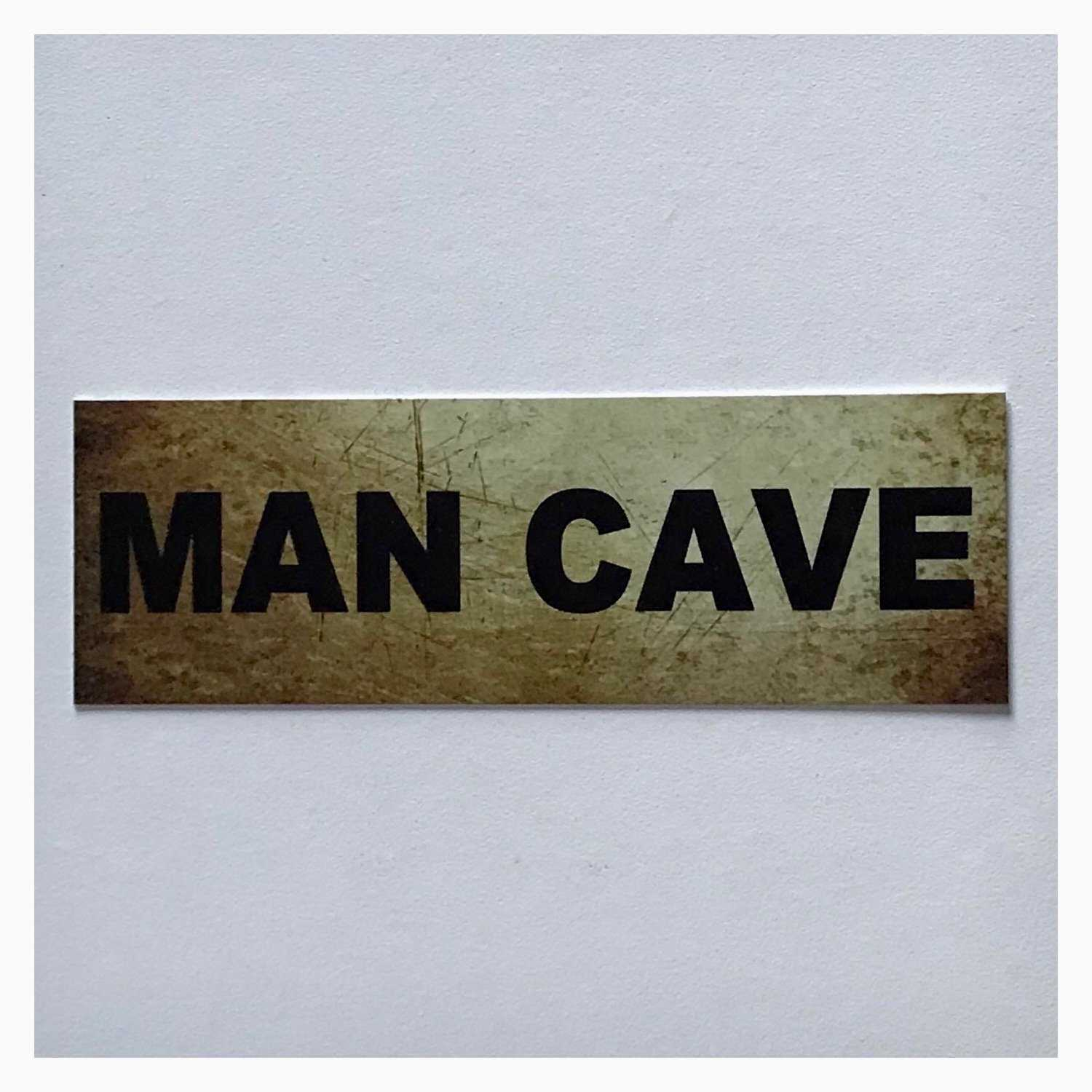 Man Cave Vintage Style Script Sign Plaques & Signs The Renmy Store
