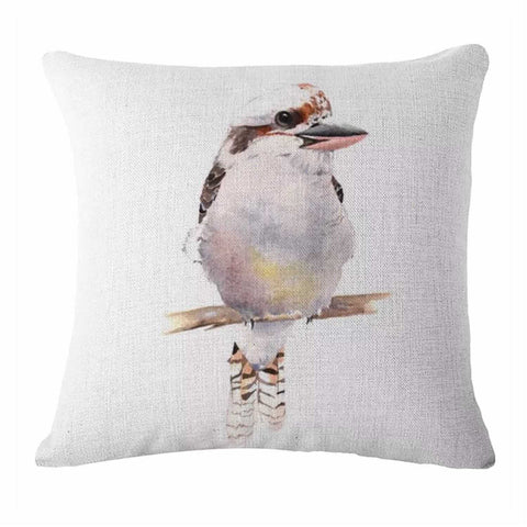 Cushion Pillow Kookaburra Bird Natural Australian