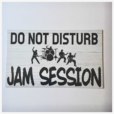 Do Not Disturb Jam Session Sign - The Renmy Store