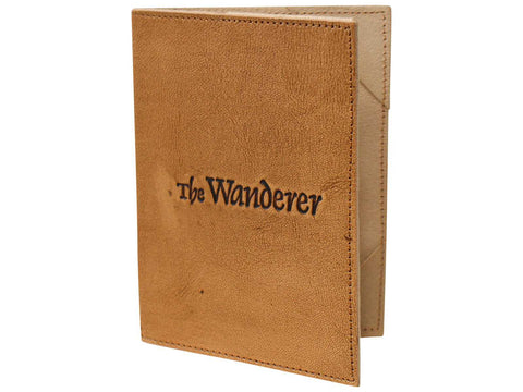 Passport Holder Leather Wanderer - The Renmy Store