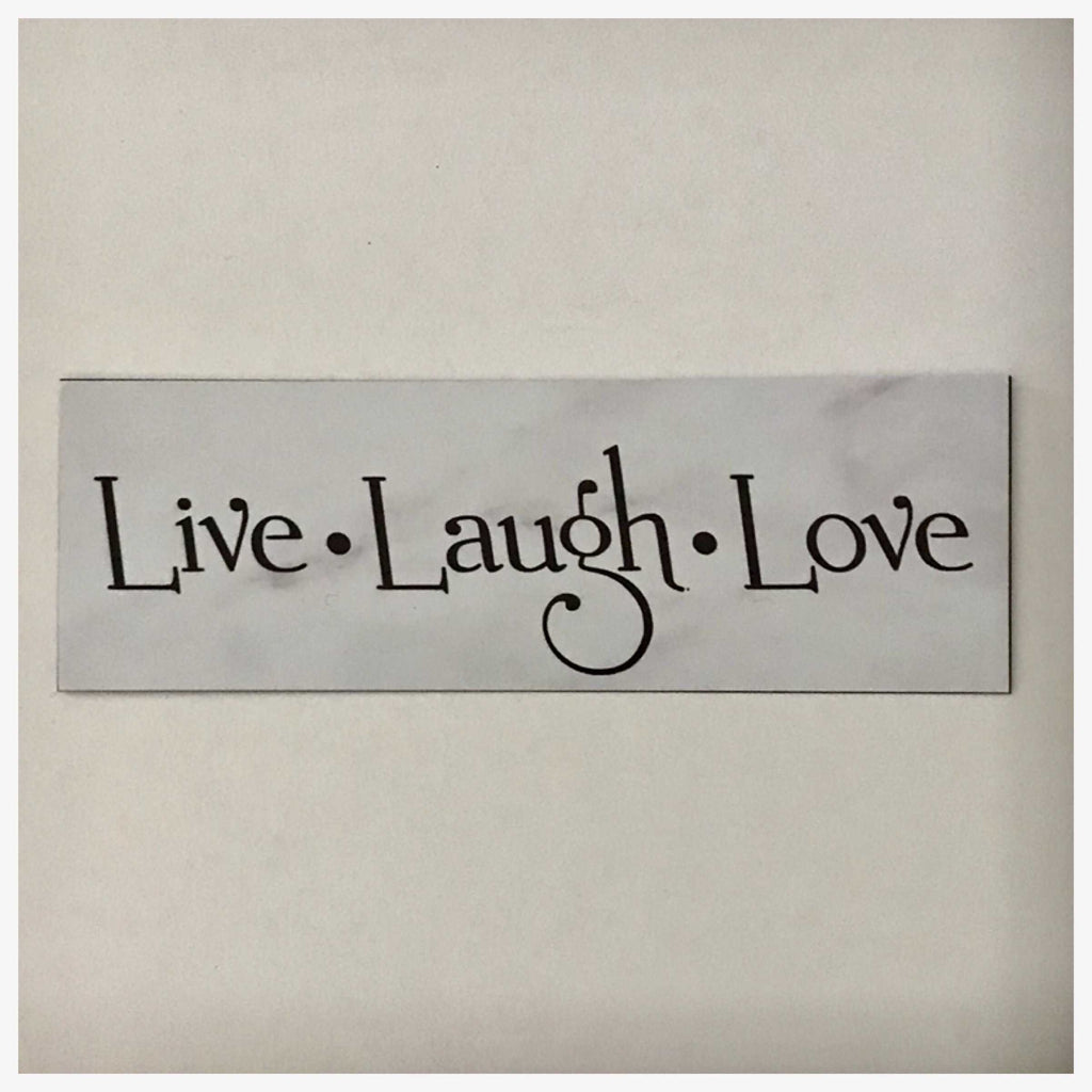 Live Laugh Love Shabby Chic Sign Wall Plaque or Hanging - The Renmy Store