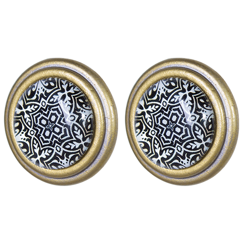 Knob DIY Set of 2 Vintage Sami - The Renmy Store