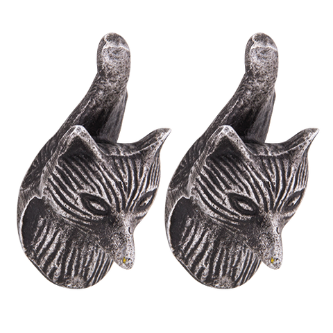 Knob DIY Set of 2 Silver Fox - The Renmy Store