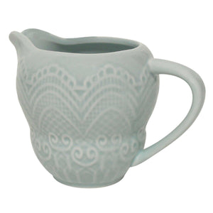 Jug - Pale Blue Shabby Chic Milk Jug