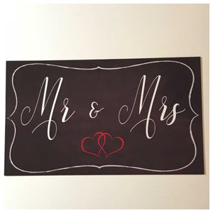 Mr & Mrs Sign - The Renmy Store