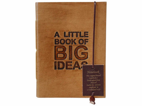 Leather Journal Diary Note Book Big Ideas - The Renmy Store