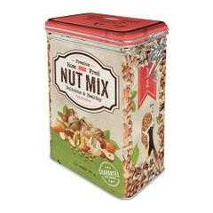 Box Tin Container Nut Mix Vintage Retro | The Renmy Store