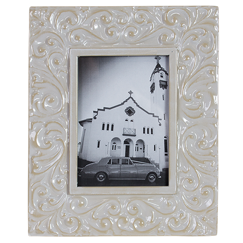Photo Frame French Creme