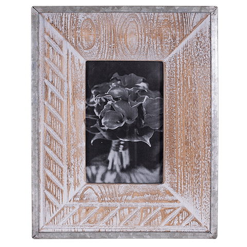 Photo Frame Wooden Sand