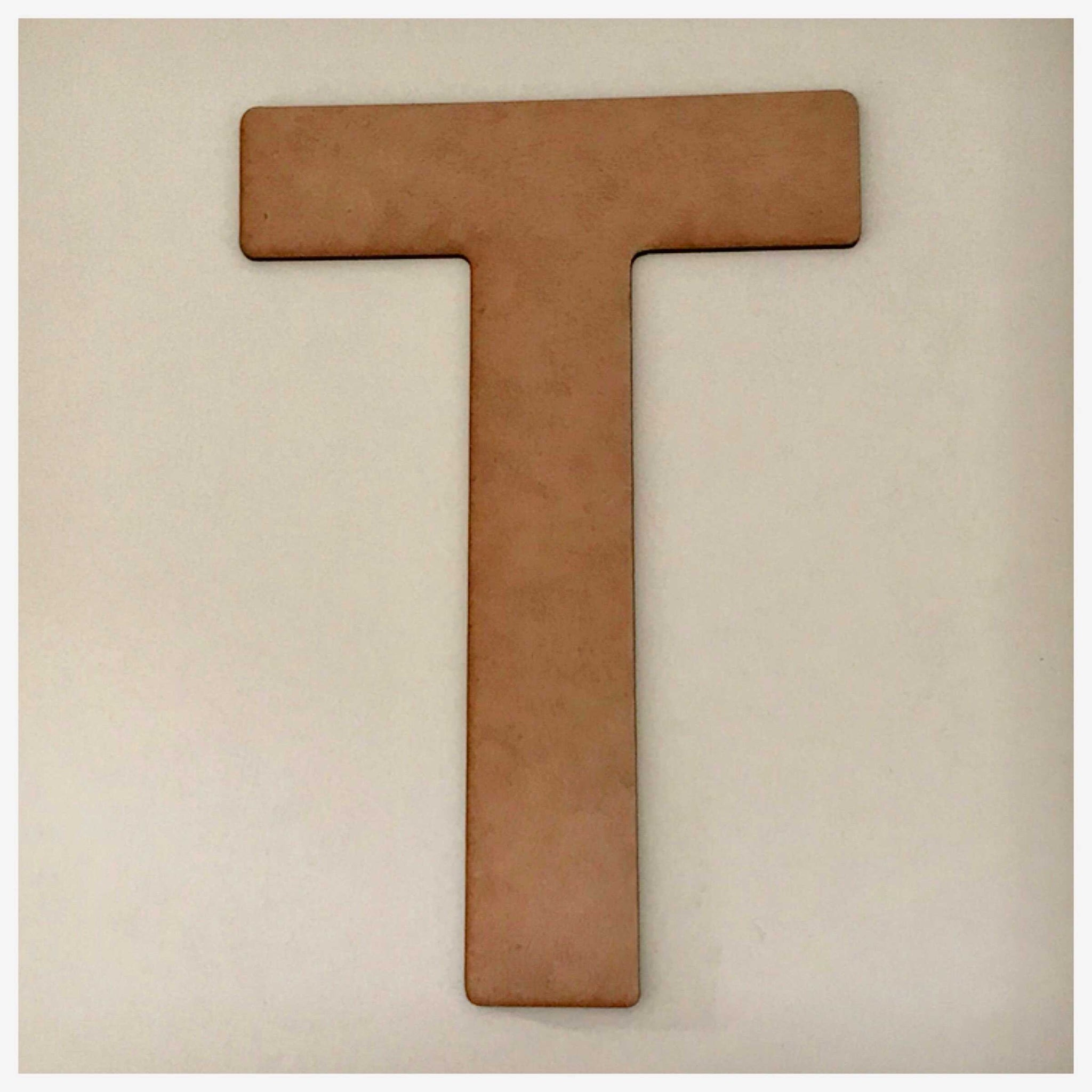 Cross T Egyptian MDF Shape DIY Raw Cut Out Art Religious Craft Decor Other Home Décor The Renmy Store