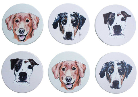 Magnet Dog Set of 6