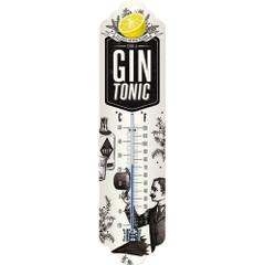 Thermometer Weather Temperature Gin & Tonic Retro | The Renmy Store
