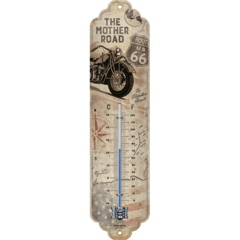 Thermometer Weather Temperature Route 66 Bike Map