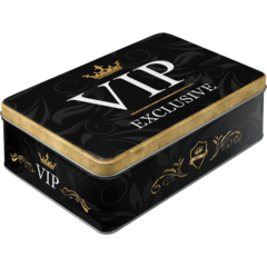 Box Tin Container VIP Exclusive Vintage Retro | The Renmy Store