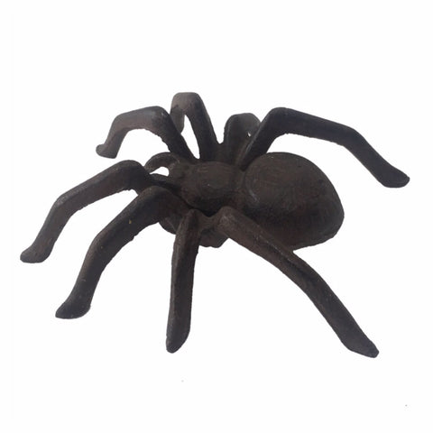 Spider Wall Hanging or Ornament Rustic Heavy Cast Iron - The Renmy Store