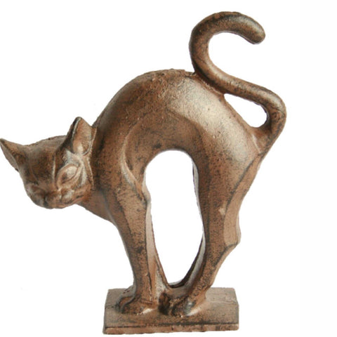 Cat Cast Iron Door Stop Doorstop - The Renmy Store