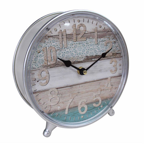 Clock Beautiful Aqua Standing Mantle - The Renmy Store