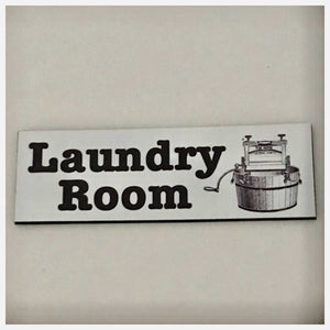 Laundry Room Door Vintage Sign - The Renmy Store