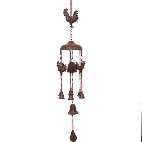 Wind Chime Rooster Farmhouse