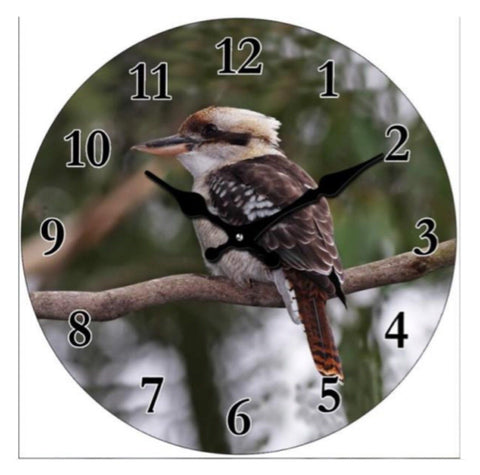 Clock Kookaburra Bird
