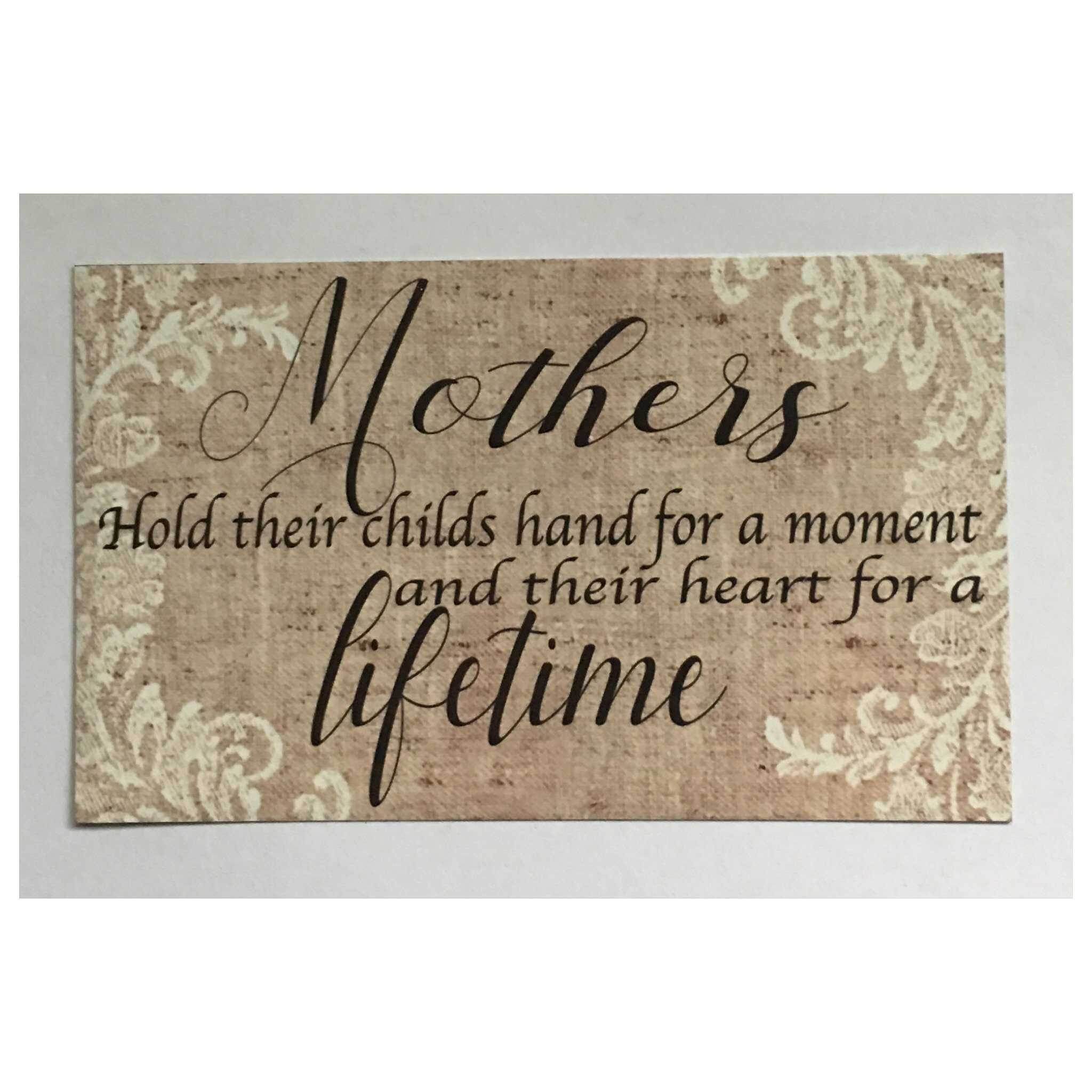 Mothers Mum Lifetime Sign Wall Plaque Or Hanging Plaques & Signs The Renmy Store