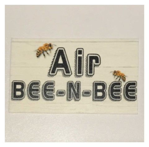 Air Bee-N-Bee Hotel Motel Bee Sign | The Renmy Store