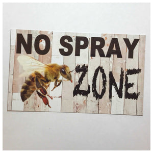 No Spray Zone - The Renmy Store