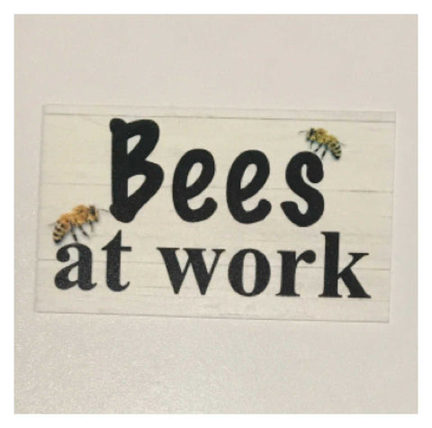 Bees At Work Bee Garden Sign | The Renmy Store