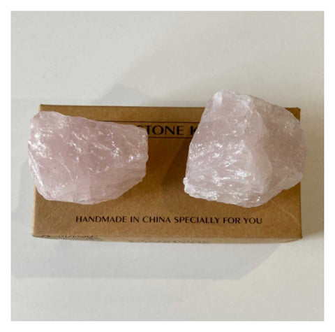 Knob Furniture Rose Quartz Crystal