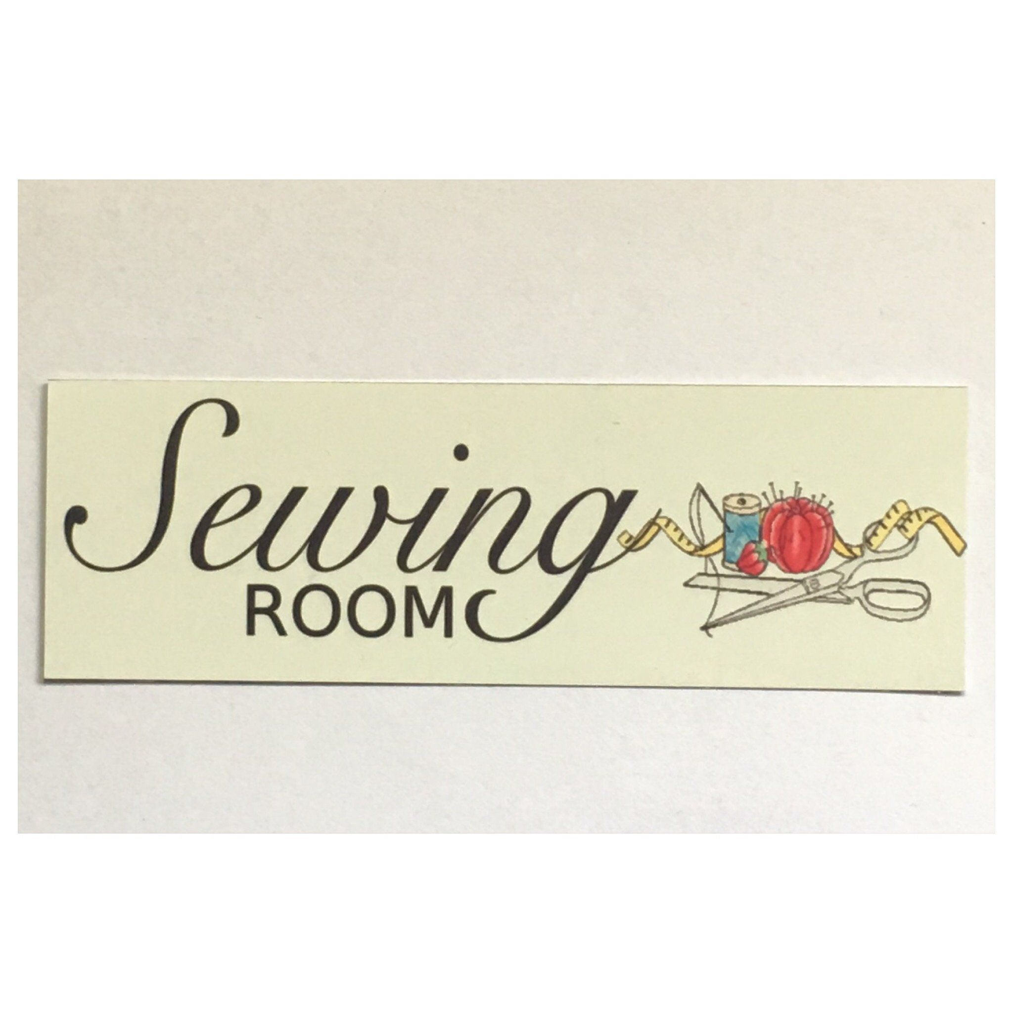 Sewing Room Sign