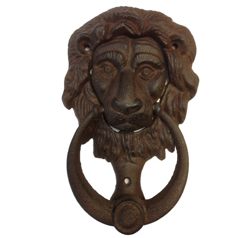 Door Knocker Lion Vintage Antique