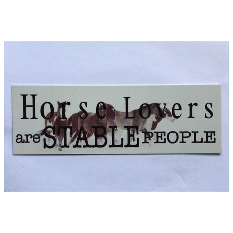 Horse Lovers Sign Hanging or Plaque - The Renmy Store