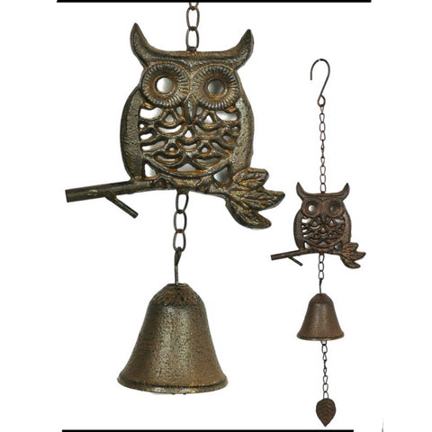 Owl Bell Hanging | The Renmy Store