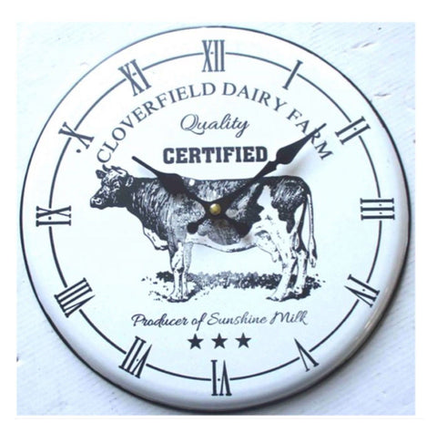 Clock Cow Iron Farm