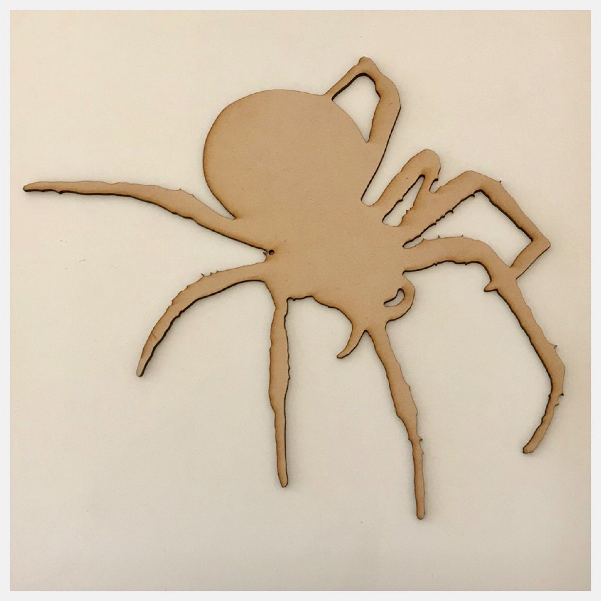 Spider Spiders Tarantula MDF Shape DIY Raw Cut Out Art Craft Decor - The Renmy Store