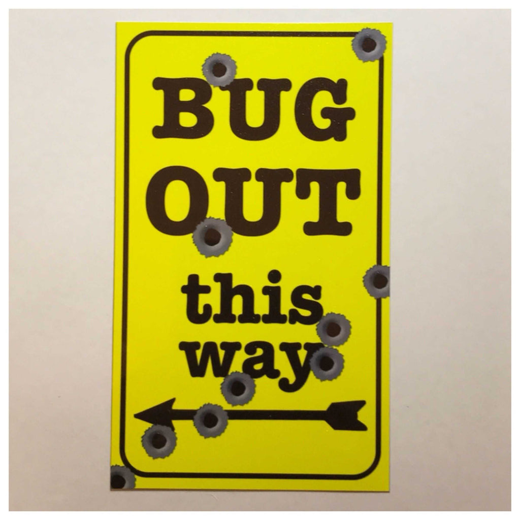 Bug Out Cubby Preppers Sign Wall Plaque Or Hanging - The Renmy Store